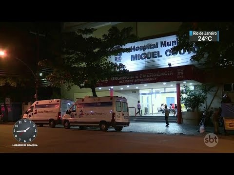 Tiroteio no Leblon-RJ deixa três pessoas feridas | SBT Notícias (12/10/17)