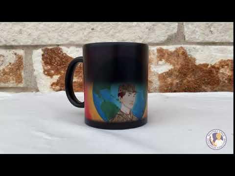 Color Changing Coffee Mug (Frances)