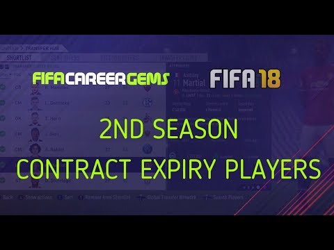 FIFA18: SEASON 2 PRE CONTRACT SIGNINGS