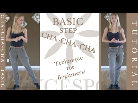 Basic Cha-Cha Technique - Ottawa Dance Sport Studio