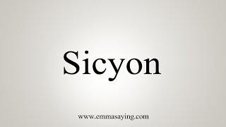 Download lagu How To Say Sicyon MP3