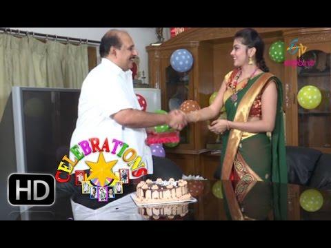 Celebrations - Ms Raju-roducer-birthday celebrations - 7th May 2016 - సెలబ్రేషన్స్ – Full Episode