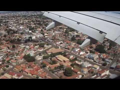 737 - 800 (GOL) Pousando em Campo Grande MS