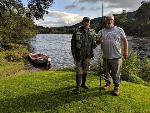 18lb Atlantic Salmon At Dalmarnock   River Tay   Scotland