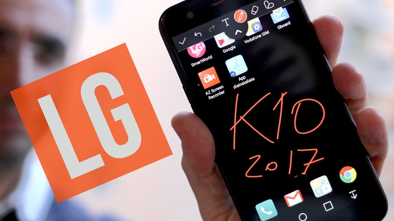 REVIEW LG K10 2017