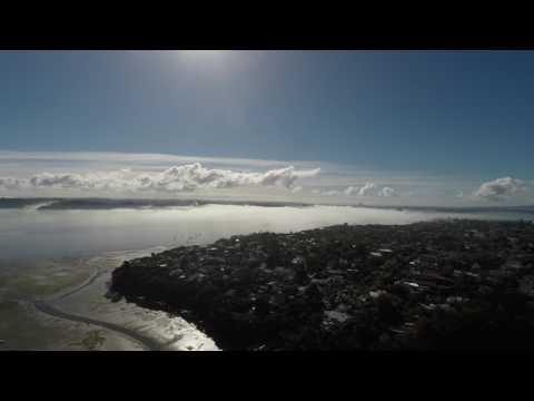 Auckland morning fog