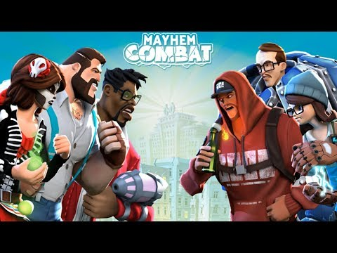 Mayhem Combat Android/Ipad Game Play #1 HD - Online Fighting Game - 동영상