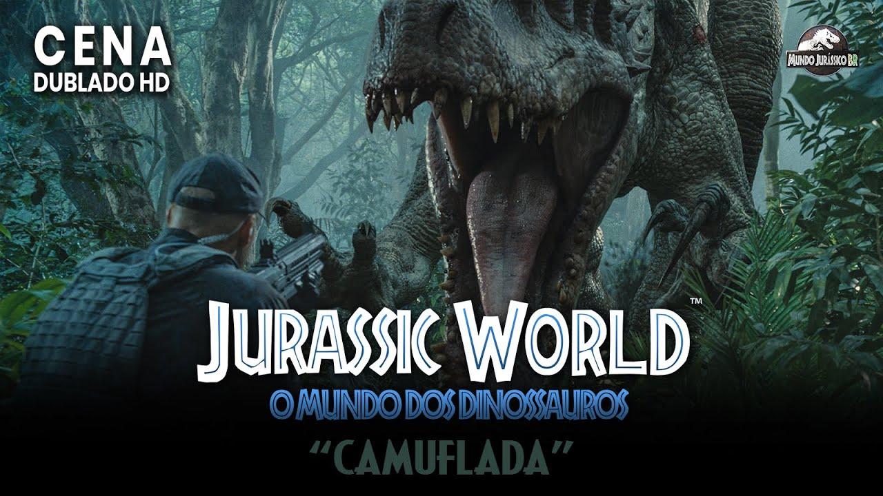 Jurassic World O Mundo Dos Dinossauros Cena Camuflada Dublado Hd Youtube