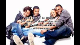 Hold on by The walls group- WITH LYRICS