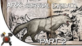"Ark: Survival Evolved Gameplay - Part 2: ""TRIPLE Direwolf Tame!"" (Season 3)"