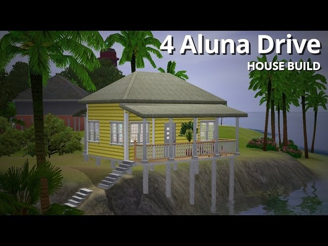 The Sims 3 House Building - 4 Aluna Drive - Aluna Island