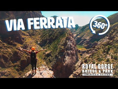Laura - The Royal Gorge has a new attraction: the Via Ferrata! Would you try it??
