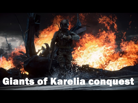Battlefield 4 - Large conquest on Giants of Karelia (PS4 Pro)
