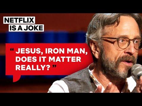 Marc Maron Thinks Marvel Movies Are The Next Big Religion | Netflix Is A Joke
