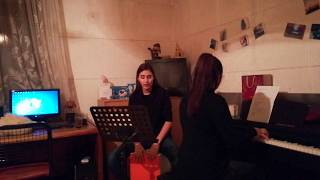 Perfect Duet Cover Rehearsal (Ed Sheeran & Beyonce)- Teodora i Isidora Skuratović