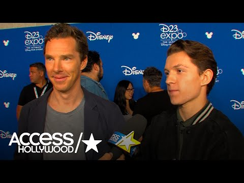Benedict Cumberbatch & Tom Holland On Fan Reaction To 'Avengers: Infinity War' Footage At D23