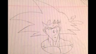 how to draw bardock