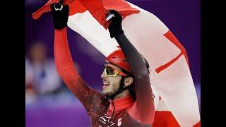 Courte piste: Samuel Girard gagne l'or au 1000m