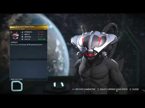 RAIDEN AND BLACK MANTA EPIC GEAR!/Injustice 2