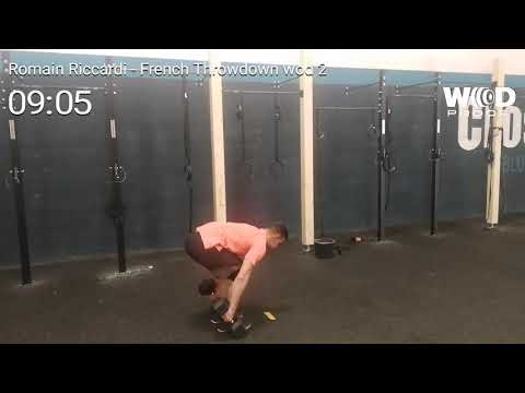 French Throwdown 2019 RR Wod 2