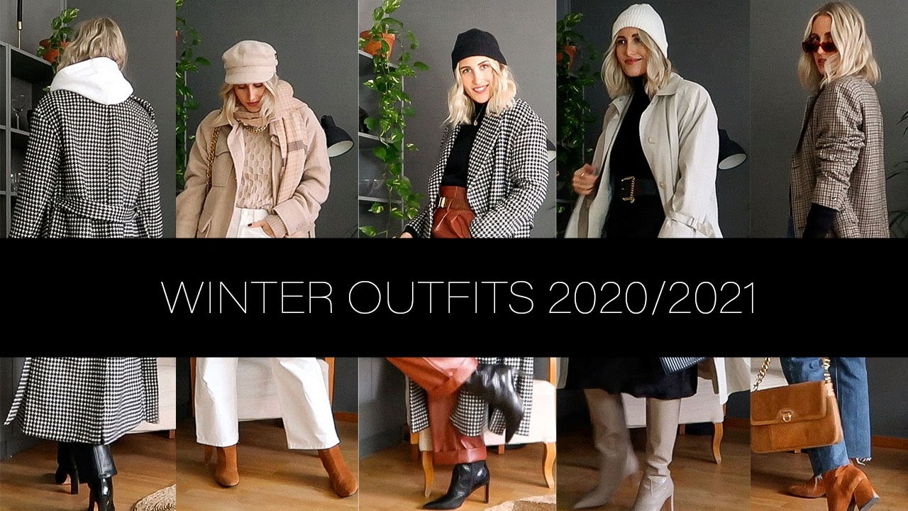 WINTER OUTFITS 20 20  Layered outfit ideas   Scandinavian Style   SandraEmilia