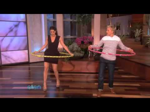 Marisa Tomei Hula-Hoops Her Way to Fitness!