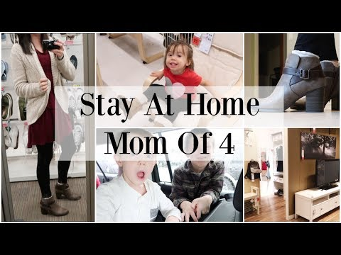 Stay At Home Mom of 4- Day In The Life ♡ NaturallyThriftyMom