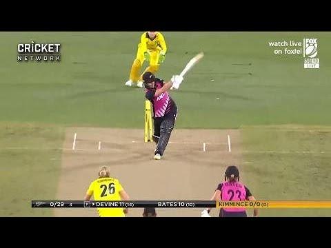 Highlights: Australia V New Zealand, Third T20
