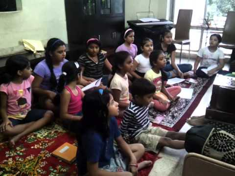 Ja re badra bairi ja raag yaman by naad alankaar students