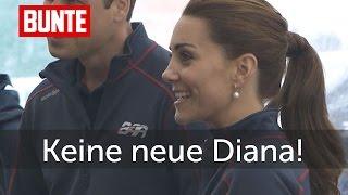 Herzogin Kate - Sie will partout keine neue Diana sein!  - BUNTE TV