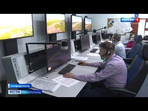 В гражданском секторе аэропорта «Бельбек» строят новый командно-диспетчерский пункт