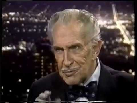 Vincent Price interview