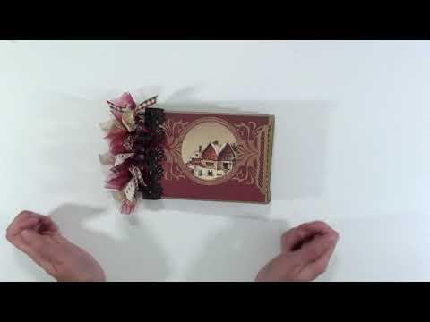 Crafty Christmas Collab Part 2 Envelope Mini Album