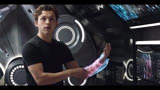 Питер собирает новый костюм под музыку AC/DC \  Человек-паук: Вдали от дома