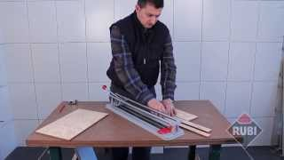 Rubi Practic Manual Tile Cutter - Practic 40, Practic 50, Practic 60