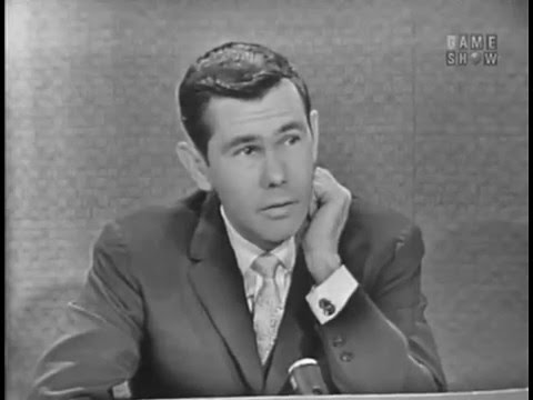 To Tell the Truth - Mercury astronauts nurse; PANEL: Johnny Carson, Betty White (Mar 12, 1962)