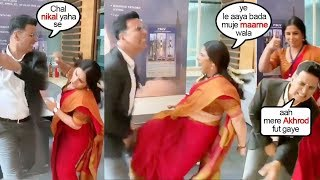 Vidya Balan's FUNNY Fight With Akshay Kumar While Shooting Mission Mangal Movie