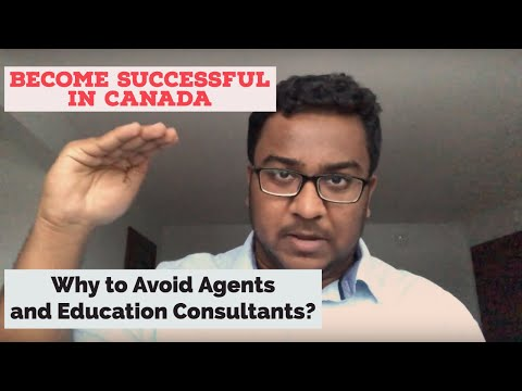 AGENTS AND CONSULTANTS   Why To Avoid Education And Immigration Consultants