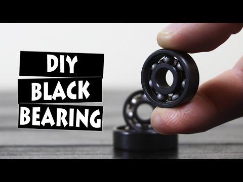DIY BLACK BEARINGS   UPGRADE YOUR FIDGET SPINNER