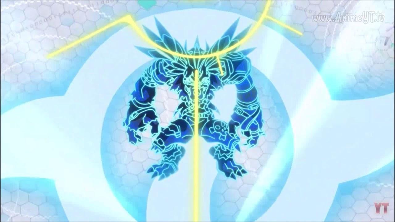 Digimon Tri: Garurumon Chou Shinka WereGarurumon - YouTube