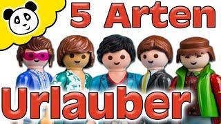 Playmobil Familie - 5 Arten von Urlaubern - Playmobil Film