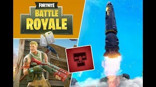 FORTNITE ROCKET LAUNCH - EPIC VIEW!