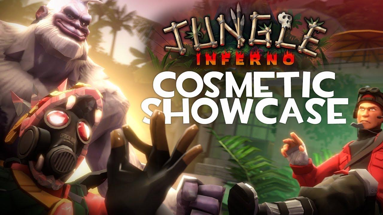 Jungle Inferno - Cosmetic Showcase [SFM]
