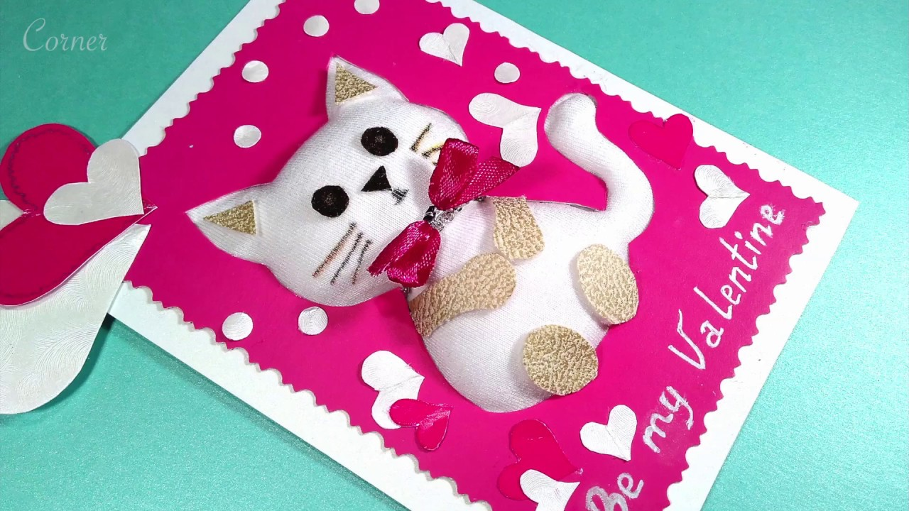 Unique Plush Greeting Card Special Soft Greeting Card Youtube