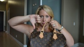 My Negative Louis Vuitton Speedy 30 Review