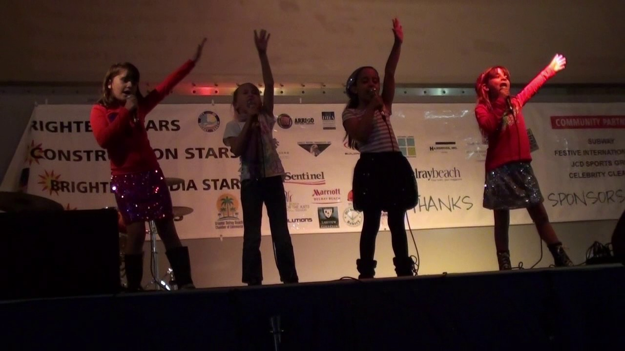 2012 Delray Beach Tree Lighting Glee Group YouTube