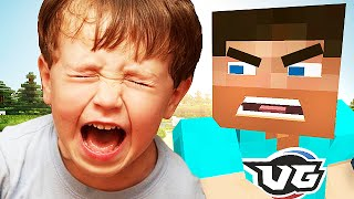 THE BIGGEST RAGE EVER IN MINECRAFT! (Minecraft Trolling)
