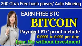Earn Free Bitcoin Daily 21600 Satoshi -0.012 BTC Per Day - Quickly Earning Trick, Without Investment