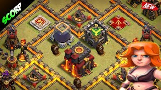 Clash Of Clans - TH10 WAR BASE/ ANTI 2 STAR/ MAY 2017