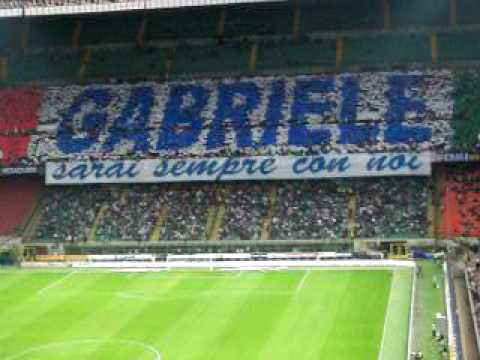 Coreografia Inter Lazio 2 5 09 Youtube